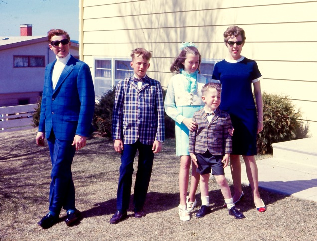 1968 Rapid City Arroyo Drive  before church 1