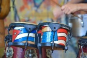 Patriotic drums?!