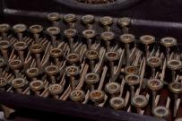 Another shot of Batista's typewriter