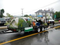 The Forest Service float