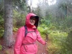 There's no such thing as bad weather, only bad gear. :-)