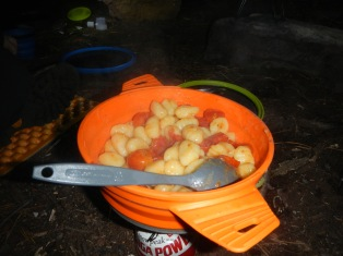 Gnocchi with tomatoes