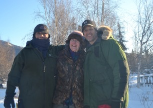 Wayne, Scarlett, Rick