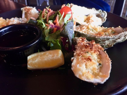 broiled oysters in Galway