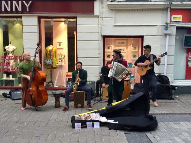 Street music in Galway