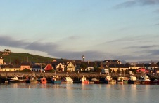Evening sun in Dingle