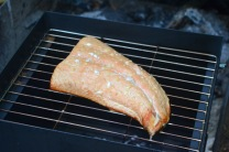 smoked salmon, 30 minutes start to finish