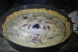 The finished pie