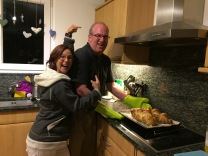 Making zopf (braided Swiss bread) with Annika