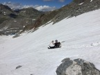 Glissading is fun, no matter how old you are!