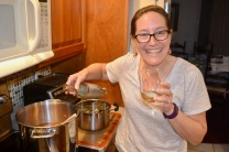 Souzz drinks the cooking wine, go figure