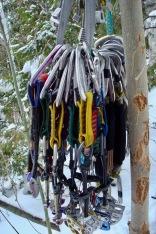 A full rack of gear