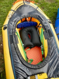 Alpacka packraft, ready to paddle