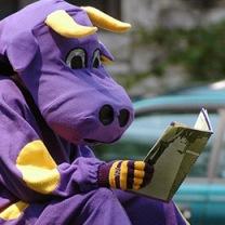 Purple cows are pretty book-smart