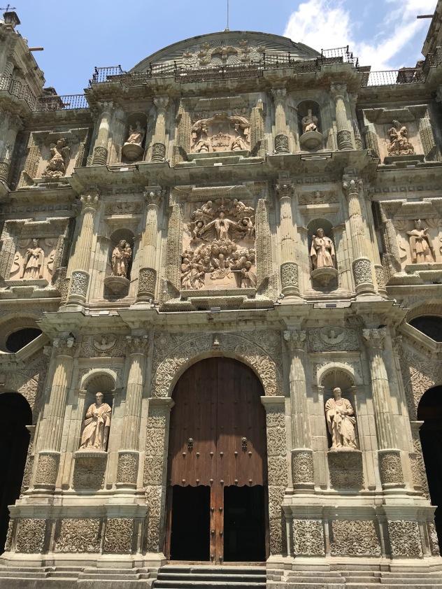 Catedral Metropolitana de Nuestra Señora de la Asunción (Cathedral of our Lady of the Assumption), dating to the 1500s