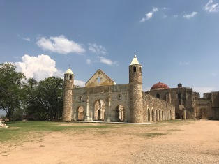 Cuilapan de Guerro, a former monastery dating to the 1500s