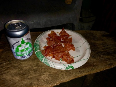 Prosciutto...oh, and beer!
