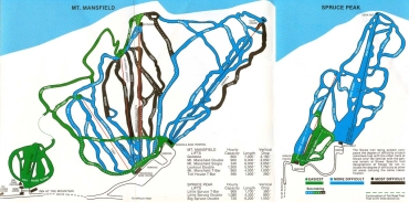 1979 Trail Map. Courtesy of vermontskihistory.com