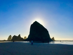 So many different lights to capture at Cannon Beach