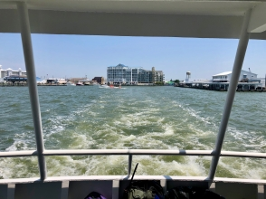 Leaving the mainland behind