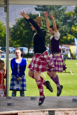 Traditional Scottish dancing