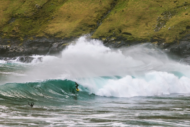 This is what it looks like when the surf is up! Photo used by permission by Erlendur Thor Magnusson