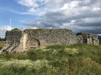 Castle Roy ruins, from the 10th century