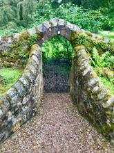 Walkway towards Cortachy Castle