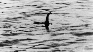 The photo that started the search for Nessie, 1933, Daily Mail.