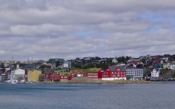 Tinganes, the historic location of the Faroese landsstýri (government)