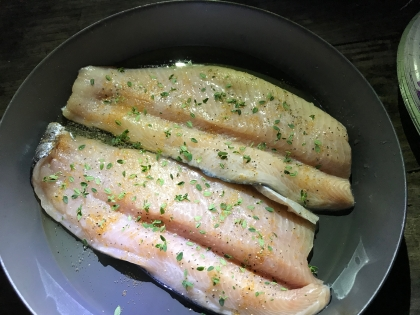Fried trout, anyone?
