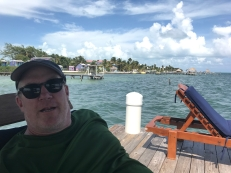 Lots of great places to enjoy beer here! We got a complimentary Belikin when we checked into our room in Caye Caulker.