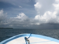 Off to Lark Caye