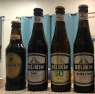 The lineup here in Belize. Note that Belikin also brews a version of Guinness, but it's more of a heavier version of their flagship brew and not much like Guinness in Ireland.